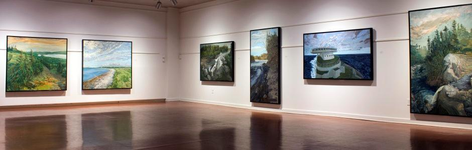University of New Brunswick: Dennis Reid, Landmarks and Legends, 2013, UNB Art Centre