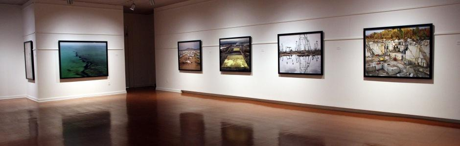 University of New Brunswick: Edward Burtynsky, Material Matters, 2013, UNB Art Centre