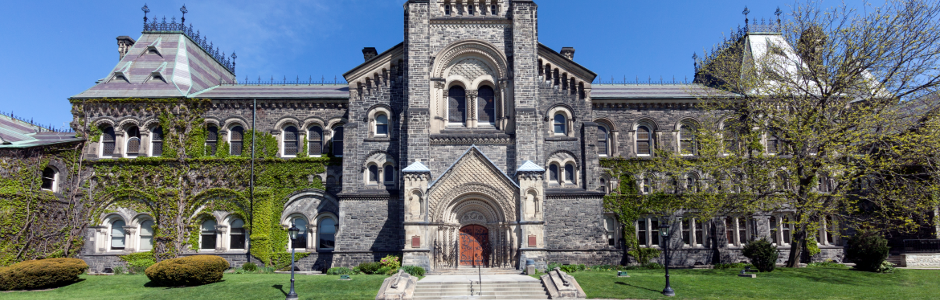 Canadian Studies, University College, University of Toronto (Photo by Christopher Dew)